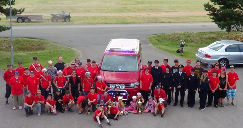 Vahdon VPK:n jäsenet osallistuivat Prasu 2012 -leirille sekä leirin valmisteluihin